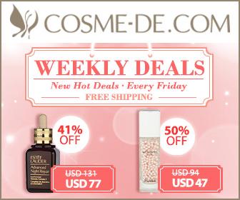 [Weekly Surprise] Up to 54% Off with Free Shipping! Guerlain, Lamer, La Prairie, Cle de Peau, Helena Rubinstein, Sulwhasoo and more with Great Prices...