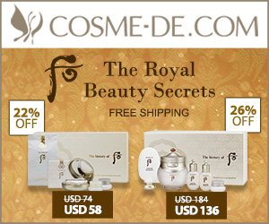[Save up to 32% off] The History of Whoo GongJinhyang - Secret Beauty Formula from the Empress!Shop NOW!