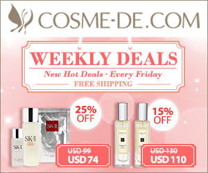 [Up to 58% Off] Weekly Surprise with Free Shipping! La Prairie, SK-ll, Jo Malone, La Mer and more with Great Prices...