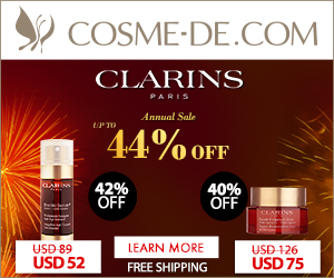 [Up to 52% OFF]Clarins, Annual Sale Up to 44% OFF! Shop Now!