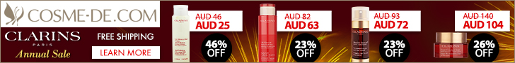 [Up to 48% OFF]Clarins, Annual Sale Up to 44% OFF! Shop Now!