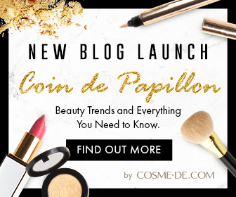 [New Blog Launch]New Blog Banner,Beauty trends and everything you need to know, find out more by COSME-DE.COM, Shop Now!